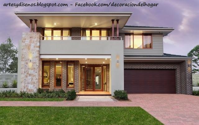 fachadas de piedra para casas