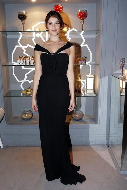 Gemma Arterton Roberto Cavalli gece elbisesiyle 12. International Marrakech Film Festivalinde