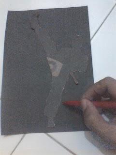 Cara Membuat Siluet Kertas