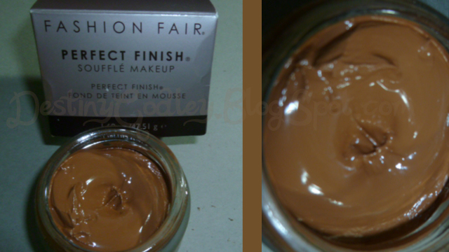 Fashion Fair Perfect Finish Souffle Makeup Perfect Finish Souffle Makeup