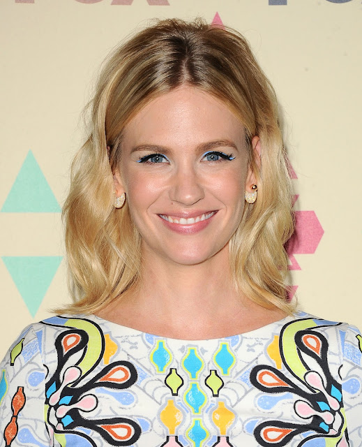 Actress, Model @ January Jones - FOX TCA Summer All Star Party in West Hollywood