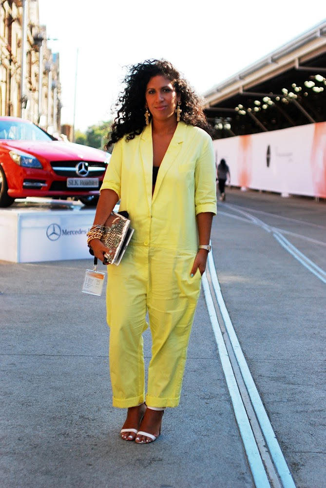 MBFWA 2013 Street Style Blogger Monica Morales