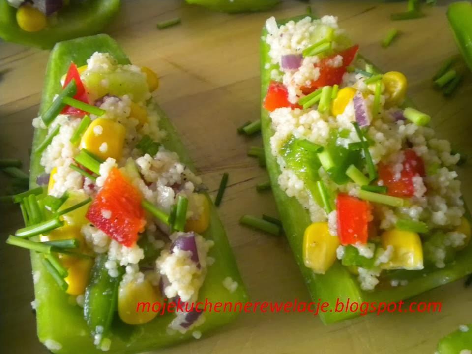 warzywa z kukusem