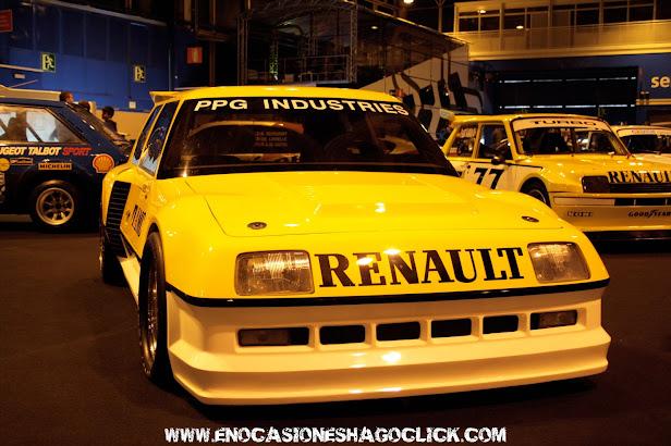 Renault 5 turbo safety car formula Indy