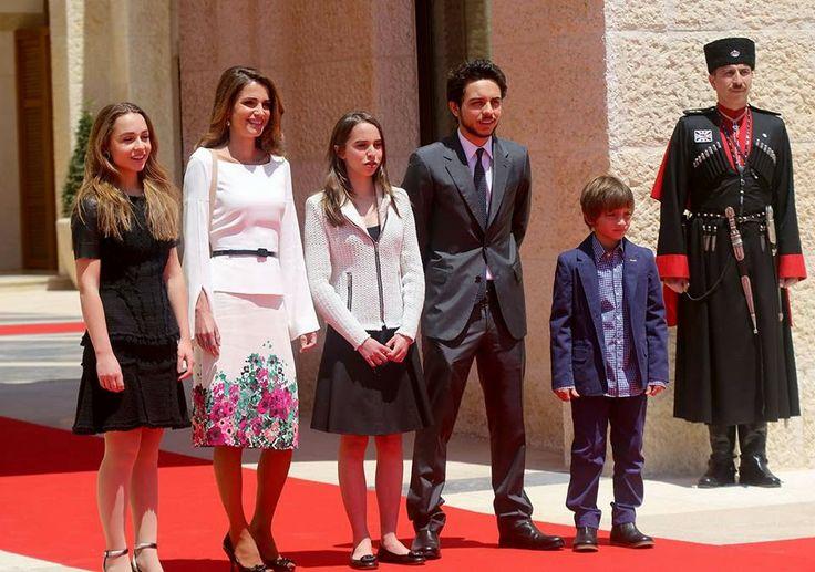 Pope King Abdullah King Abdullah And His Family