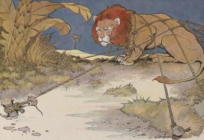 Fabula el León y el Ratón