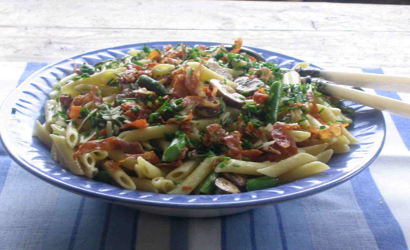 ... oil prosciutto penne with asparagus and penne with asparagus and penne