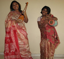 Two talented beautiful Lineage Baulini's.. Anisha Dasi and Manisha Dasi, Babu's daughters