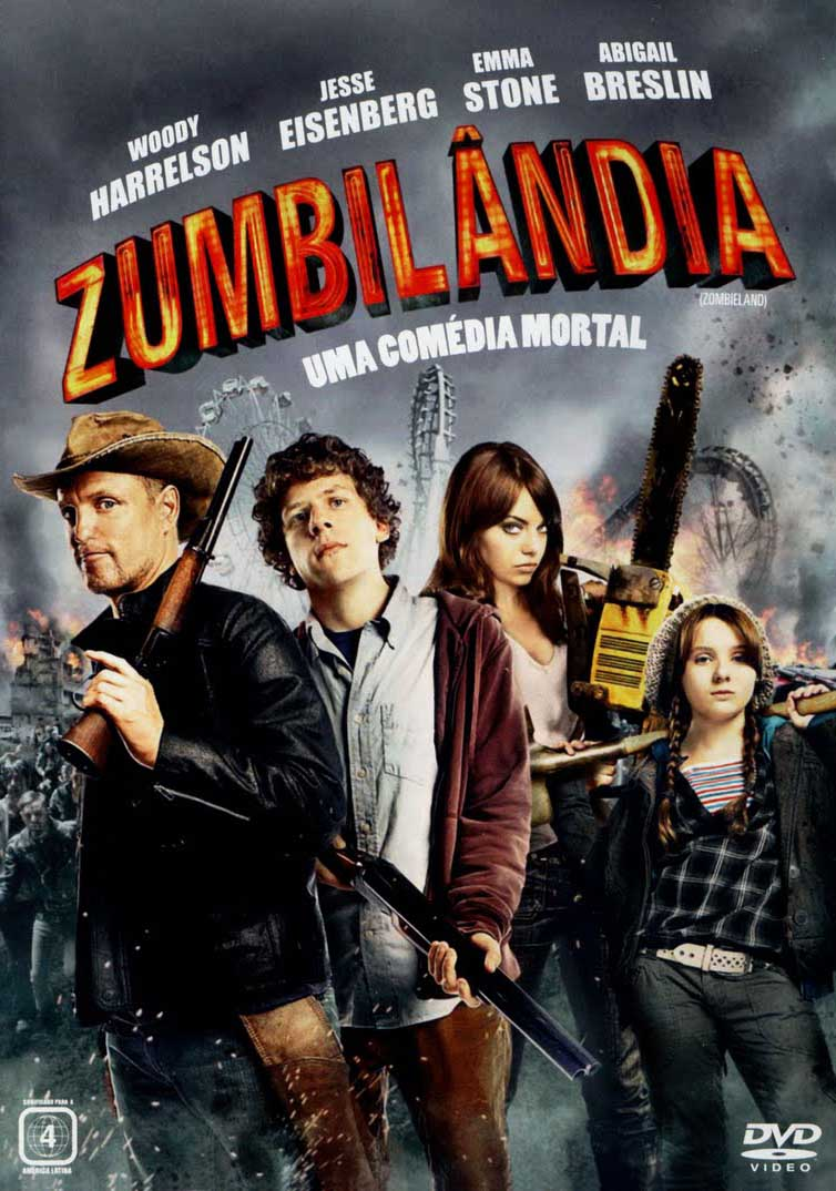 Zumbilândia Torrent - Blu-ray Rip 1080p Dual Áudio (2010)