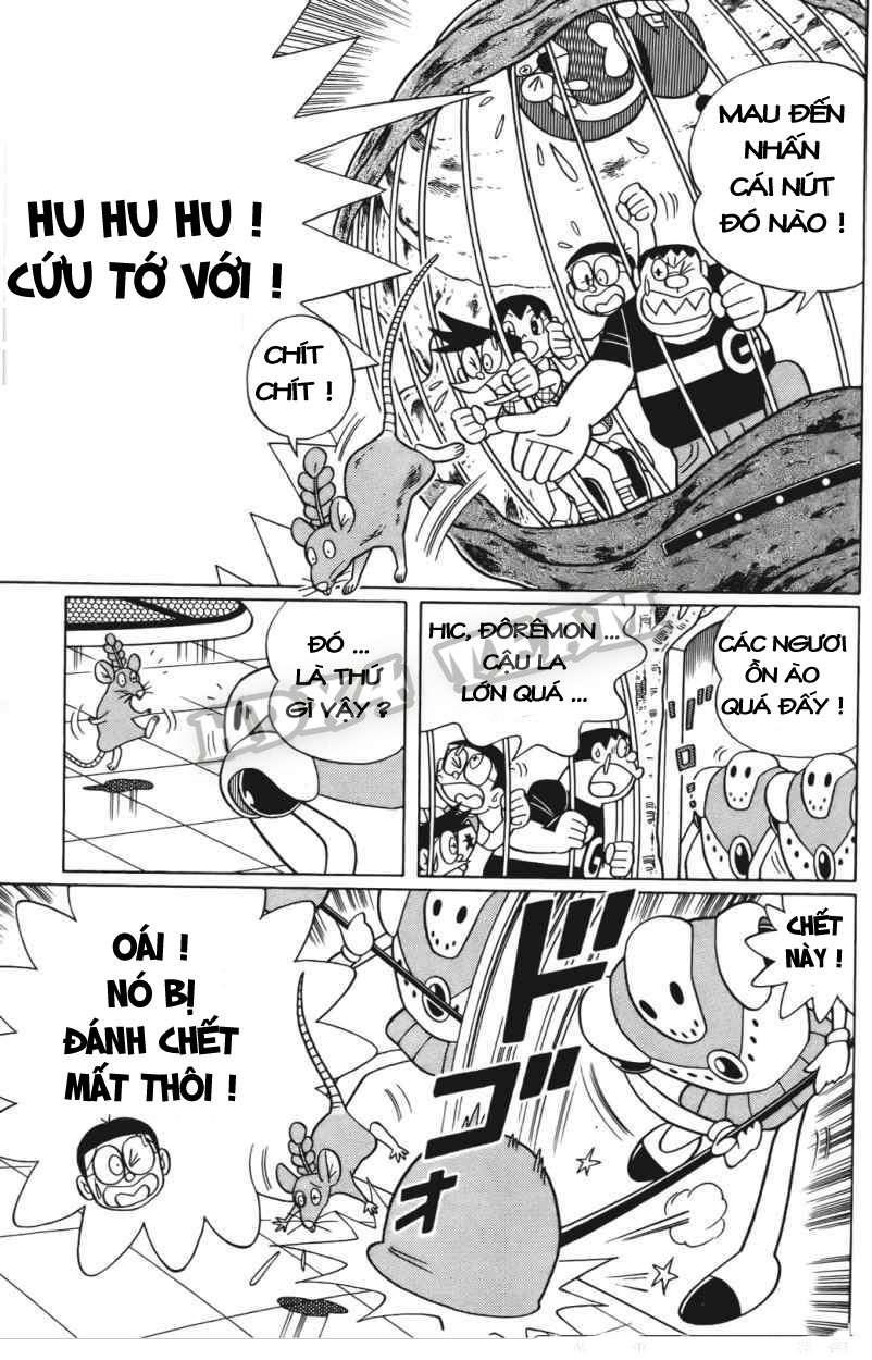 Truyện tranh Doraemon Dài Tập 25 - Nobita và truyền thuyết thần rừng trang 98