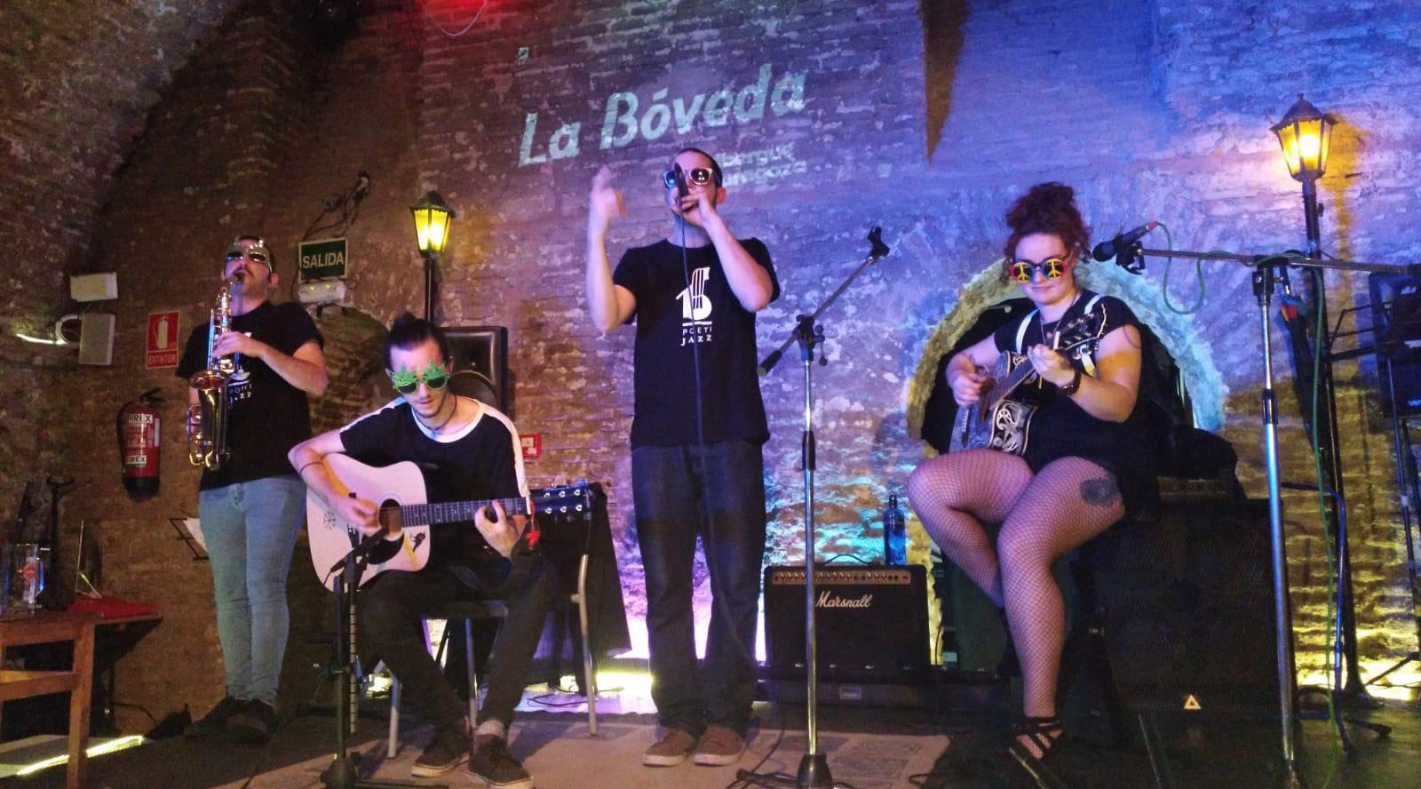 """JACA: Poesía&Jazz y Presentación de """"Soliloquio"""""""