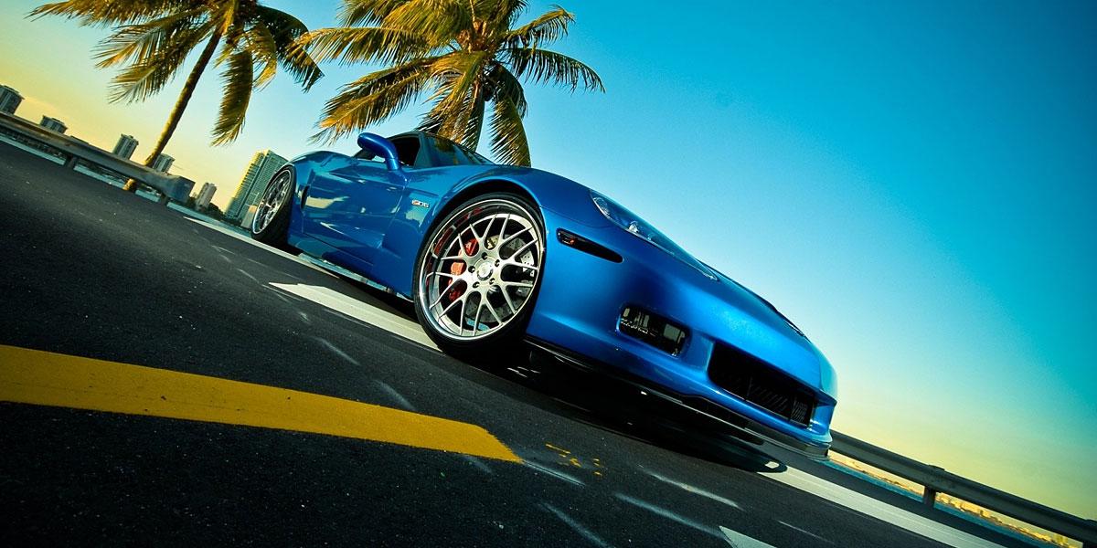 Blue Car l 300+ Muhteşem HD Twitter Kapak Fotoğrafları