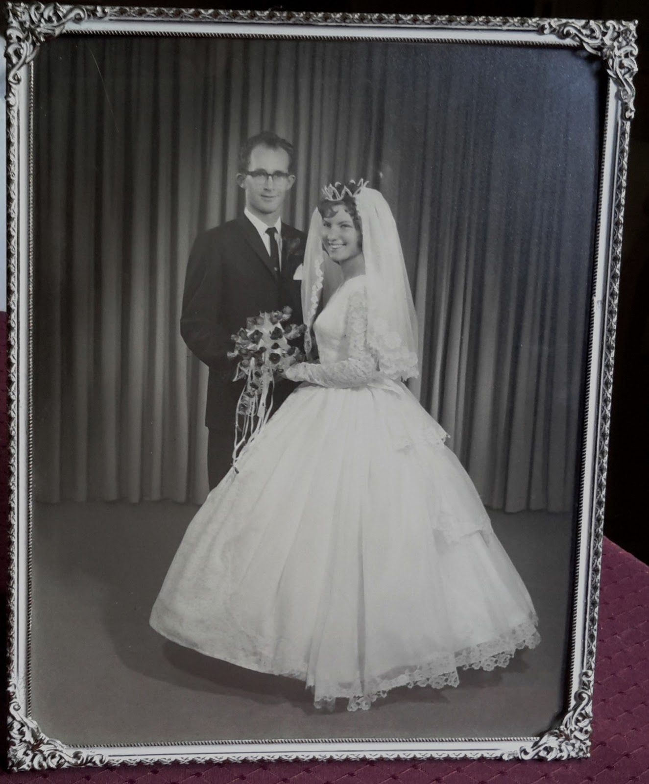 Pearls in a Nutshell: Down Memory Lane on our 50th Wedding Anniversary