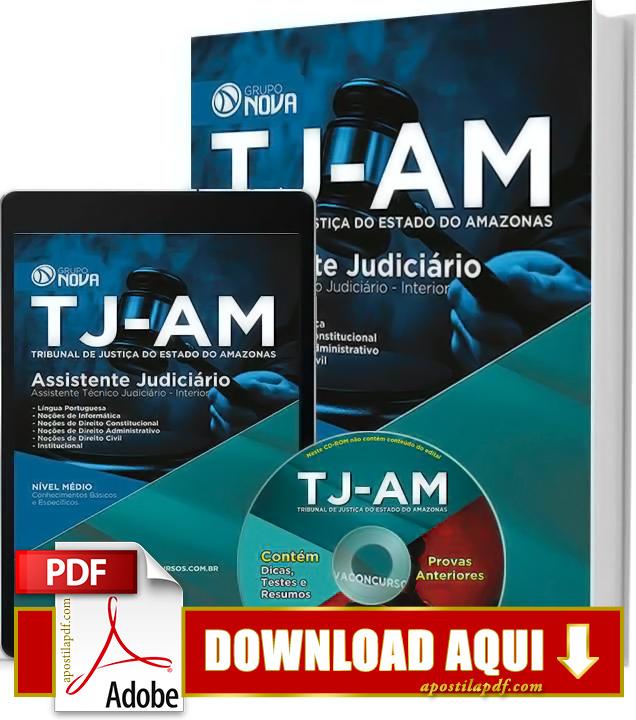 Apostila TJ AM 2015 Assistente Técnico Judiciário Impressa Apostila TJ AM 2015 PDF Grátis Download