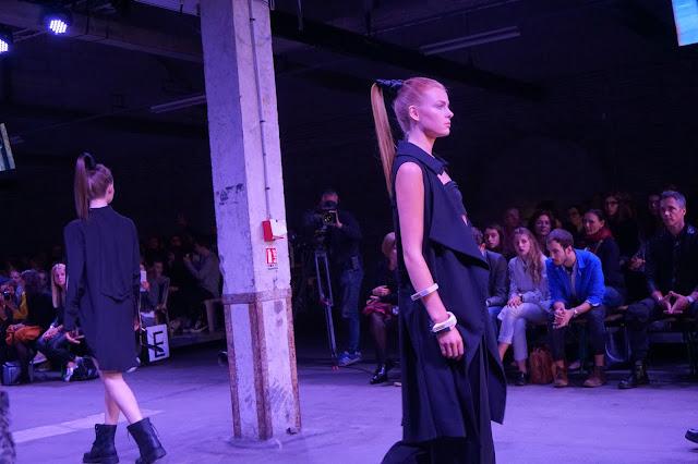 Blog o Francji Café Chic Choc Pokaz mody, Lille, Francja 2015 - projektant: Laurance Andre