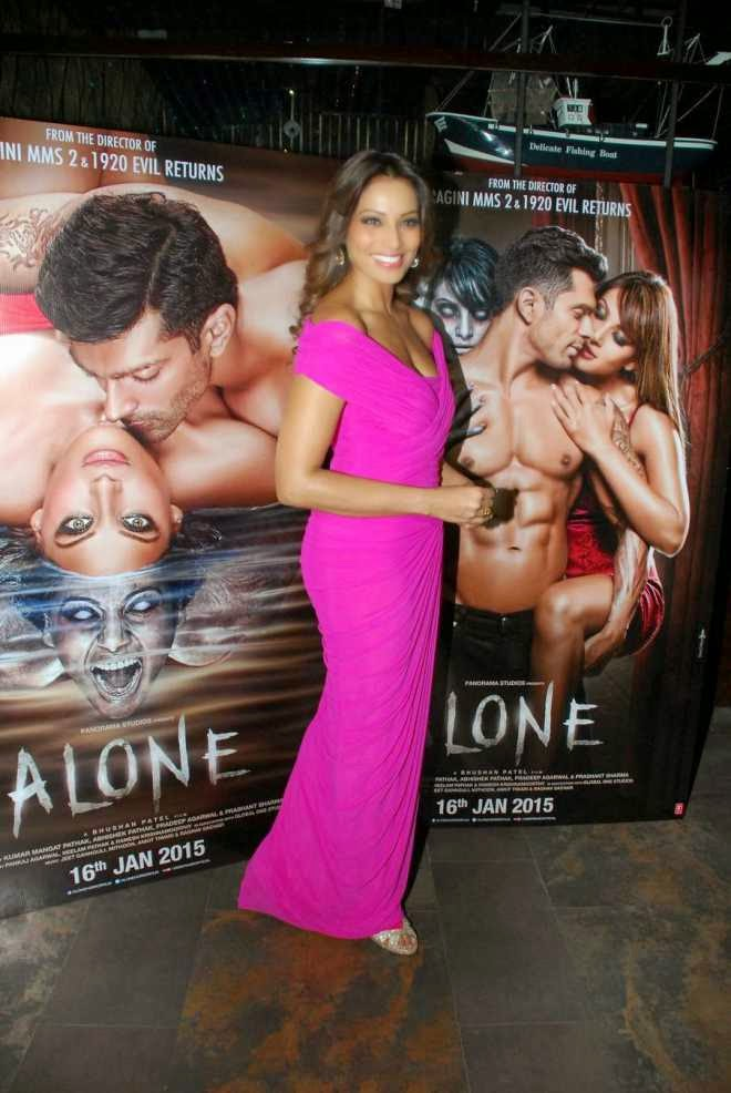 Bipasha Basu Latest Stills At Alone Movie Music Launch