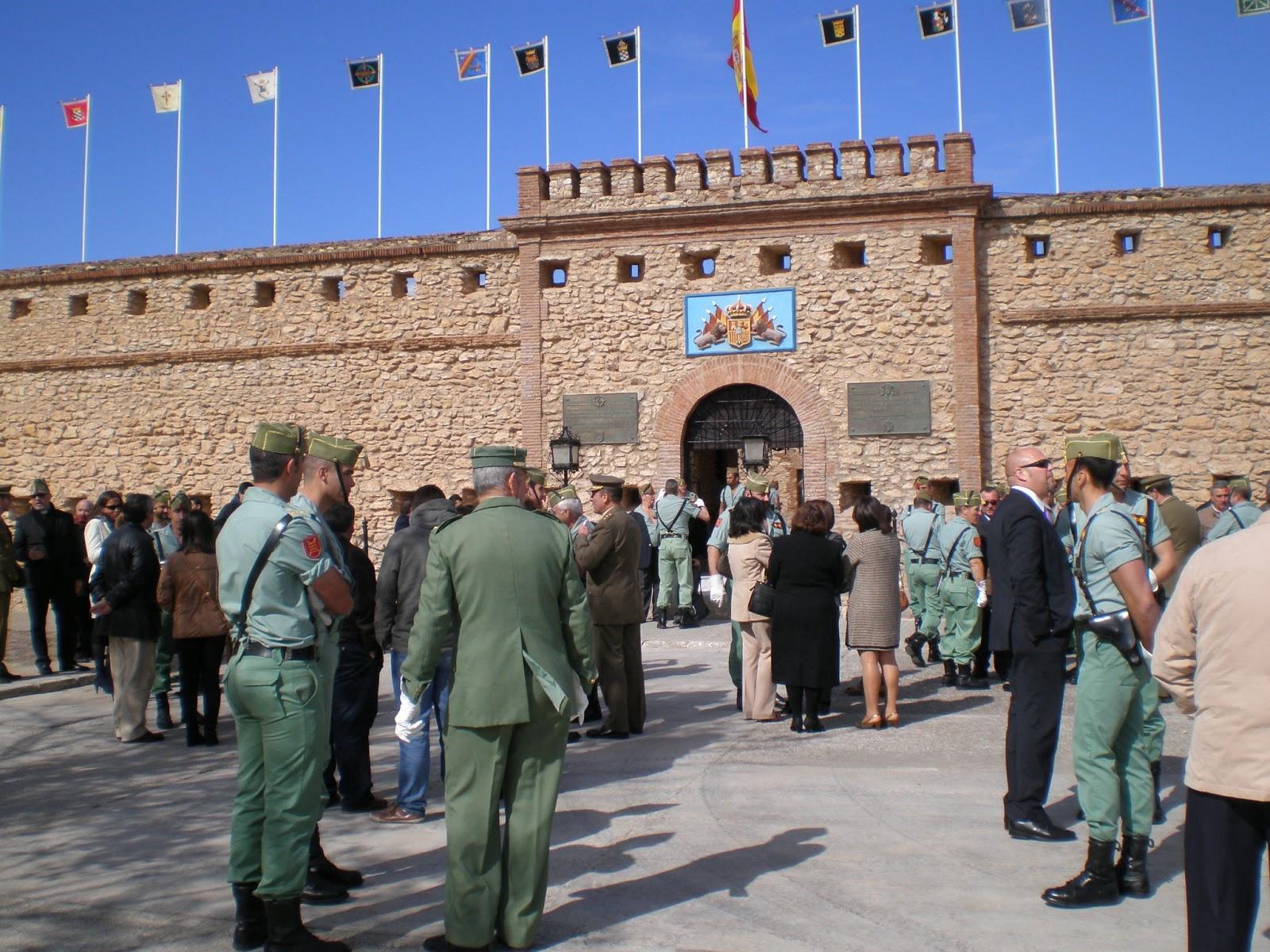 Cuartel del Tercio del Gran Capitán en Melilla, España, 1ª Bandera ...