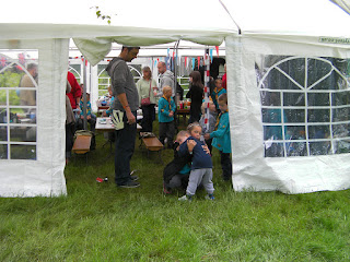 chandlers ford district campsite scout camp marquee and canteen