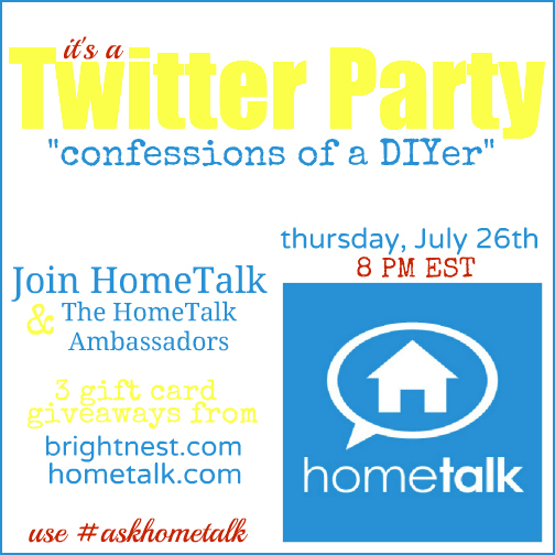 Hometalk, Twitter, Party