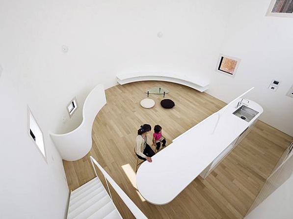 Space Interior Gaya Arsitektur Hunian Minimalis Di Jepang