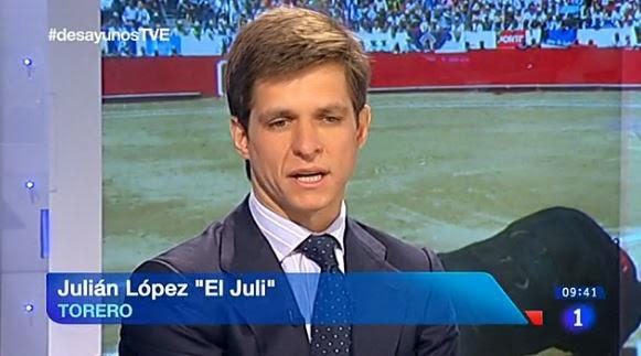 El torero El Juli fue entrevistado en Los Desayunos de TVE