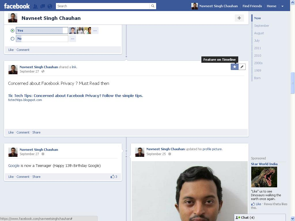how to delete timeline posts on facebook
