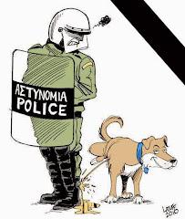 VIDEO→ Loukanikos, chien révolutionnaire