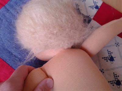 Puppenhaare anleitung