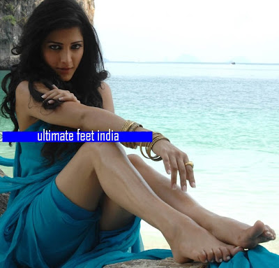 Shruti Hassan Feet &amp; Legs