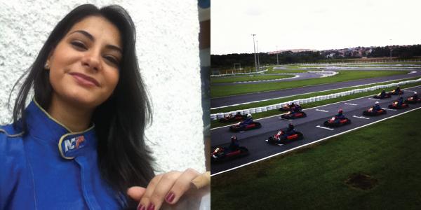 Bárbara Urias - Kartódromo Internacional de Betim - mulher piloto de kart