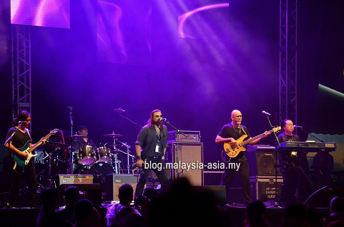 Union Band at My Music Festival 2015 Malaysia