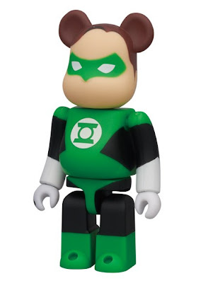 Be@rbrick Series 22 - Green Lantner 100% Be@rbrick Vinyl Figure