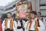 Λαμπρώς εορτάσθη η Μνήμη του Οσίου Παναγή του Μπασιά του εν Κεφαλληνίας στα Κρύα Ιτεών της Πάτρας