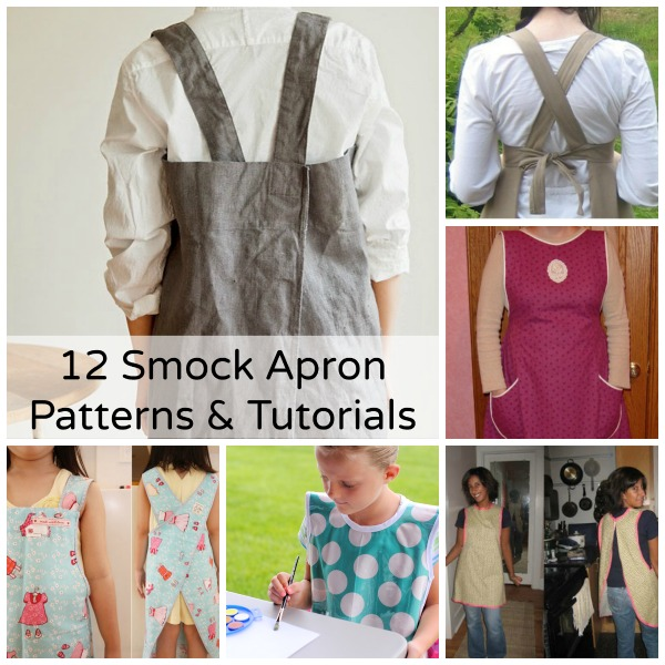 Becky Cooks Lightly: 12 Smock Apron Patterns & Tutorials