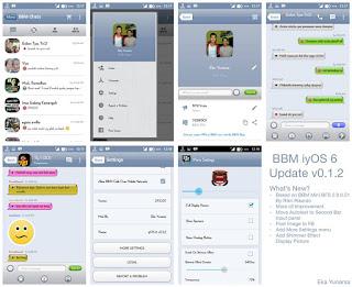 BBM iyOS 6 v0.1.2 V 2.9.0.51 Apk