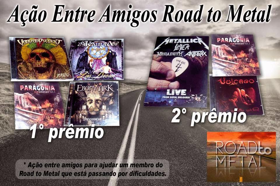 Ação Entre Amigos Road to Metal! (PARTICIPE)