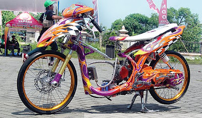 yamaha mio modifikasi racing look