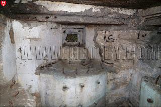 Амбразуры крепости 'Twierdza'. Вид изнутри