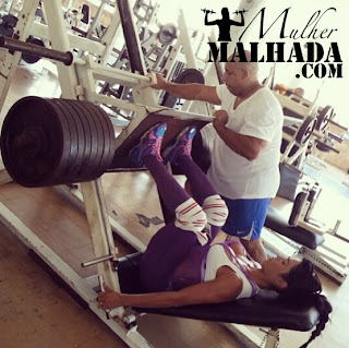 exercicio de musculacao leg press