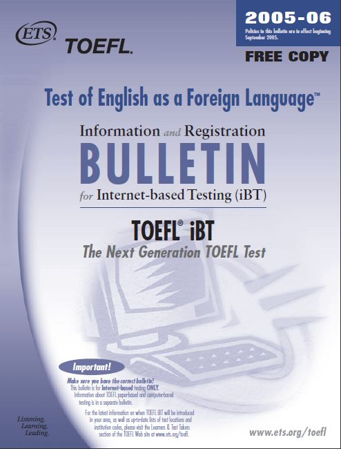 essays for toefl examine Test of english as a foreign language® (toefl / ˈ t oʊ f əl / toh-fəl) is a standardized test to measure the english language ability of non-native speakers wishing to enroll in english-speaking universities.