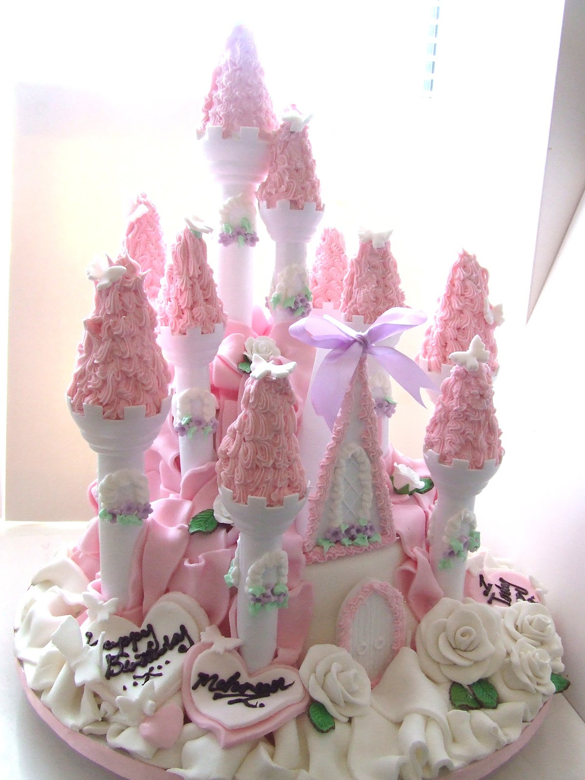 Barbie Castle Cake Images : Iced Out Company Cakes!: The Princess Castle Cake!