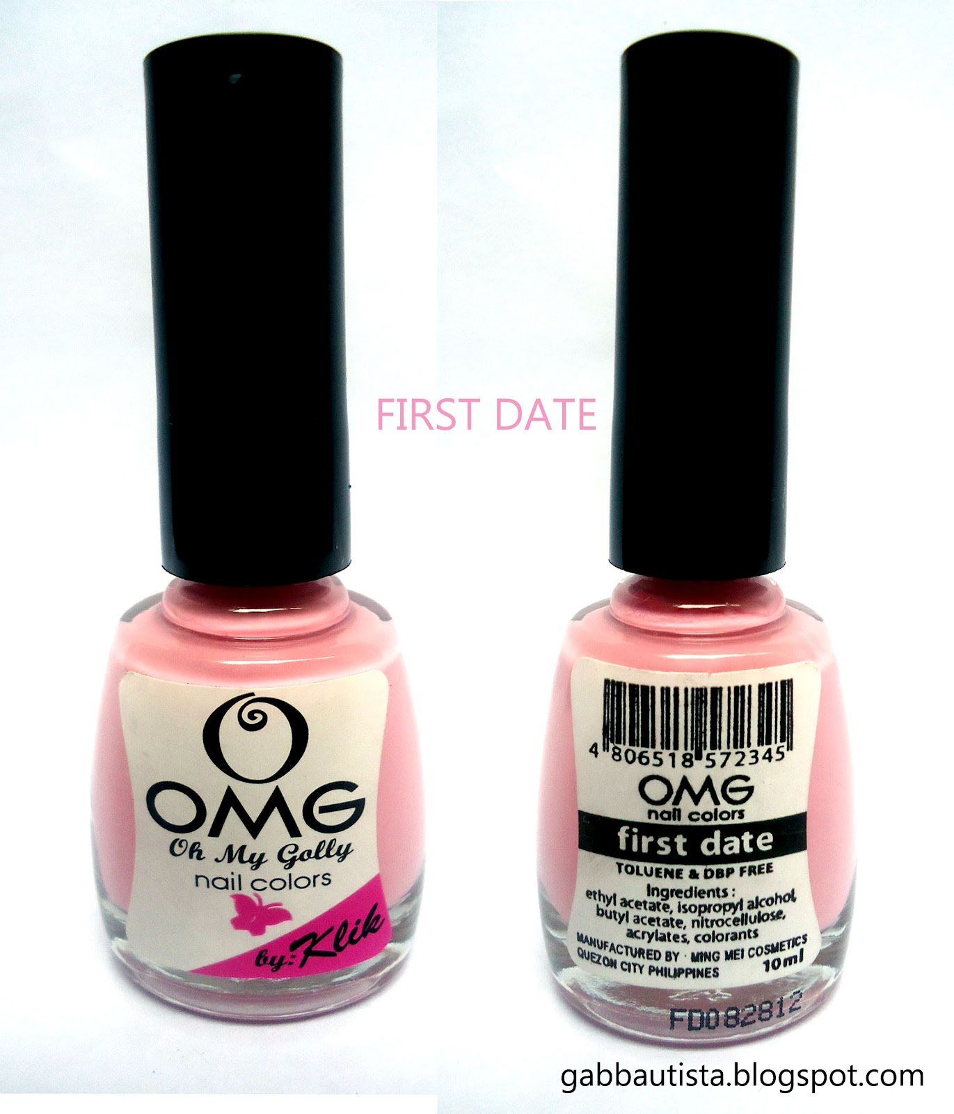 CONFESSIONS OF GAB BAUTISTA: OMG(Oh My Golly) Nail Colors ...