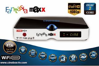 CINEBOX FANTASIA MAXX HD - ATUALIZAÇÃO 30/07/2015