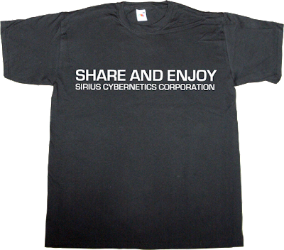 The Hitchhiker's Guide to the Galaxy movie internet 2.0 peer to peer p2p t-shirt ephemeral-t-shirts