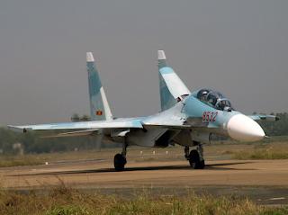 cazas de combate Su-30 MK3