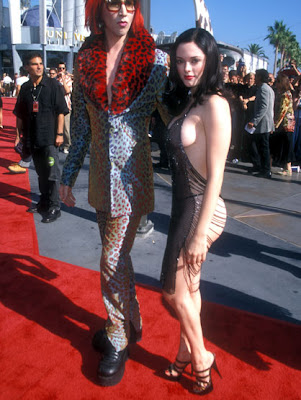 Rose McGowan at the 1998 MTV