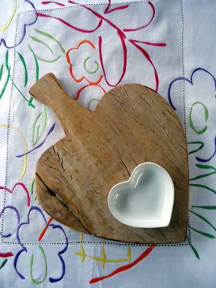 Tábua de cozinha  reutilize madeira