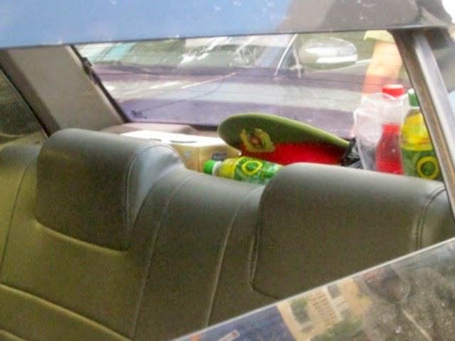Để mũ Công An trên ô tô làm ngáo ộp thì bị CSGT xử lý thế nào