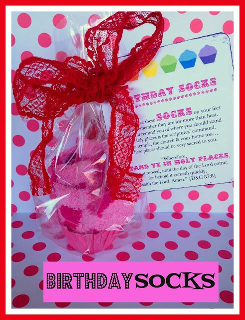 Marci Coombs: Birthday Socks.
