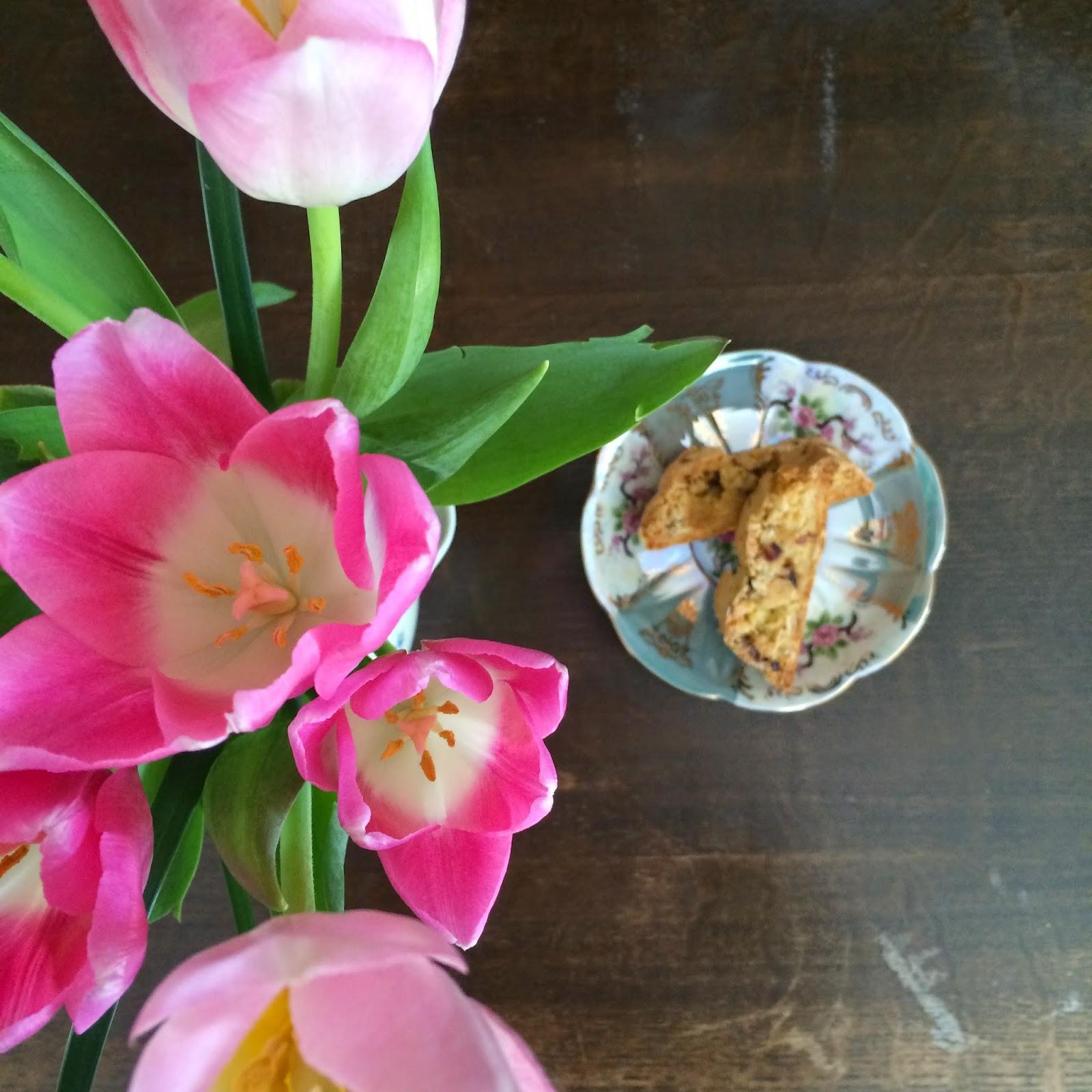 Almond Cranberry Biscotti, Recipe, Tasty Tuesday